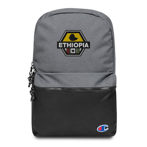 Ethiopia Embroidered Champion Backpack