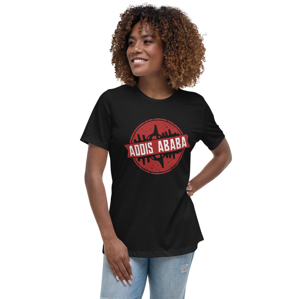 Addis Ababa Women's Relaxed T-Shirt