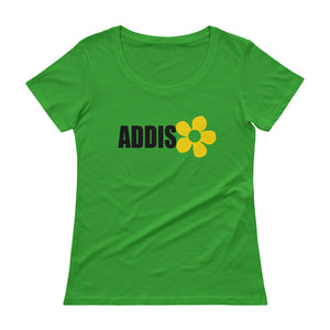 Ladies' Scoopneck T-Shirt (Addis Abeba)