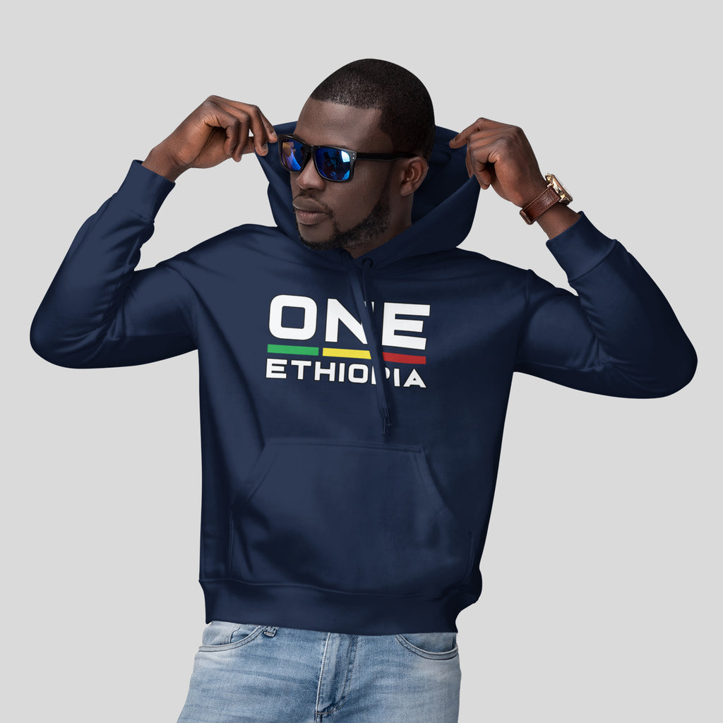 One Ethiopia Unisex Heavy Blend Hooded Sweatshirt