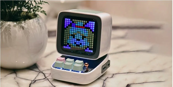 DITOO A MULTIFUNCTIONAL PIXEL ART BLUETOOTH SPEAKER + | Divoom International
