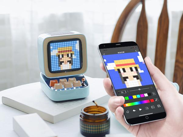 Divoom's Ditoo: Much More Than a Pixel Art Bluetooth Speaker | Divoom International