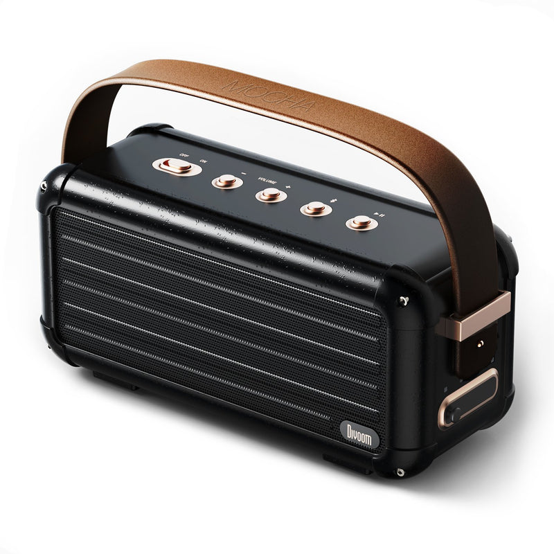 Mocha, 40W 10000mah Portable Bluetooth Speaker - Divoom International