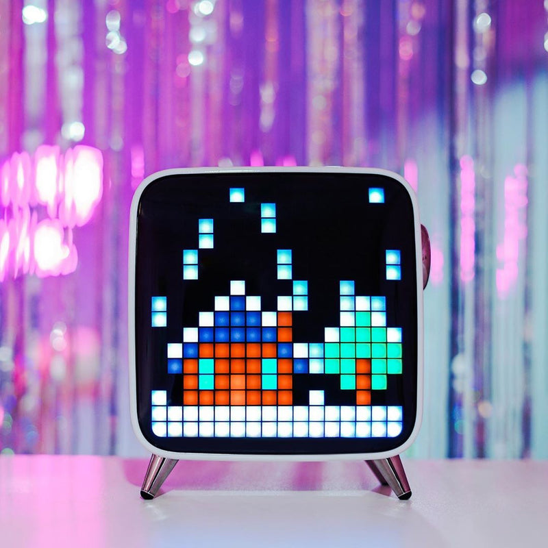 Divoom Tivoo Max Smart Pixel Art Bluetooth Speaker/ Smart alarm clock