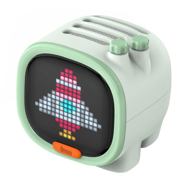 Divoom Timoo Cute Bluetooth Speaker LED Pixel Art Alarm Clock - Divoom International