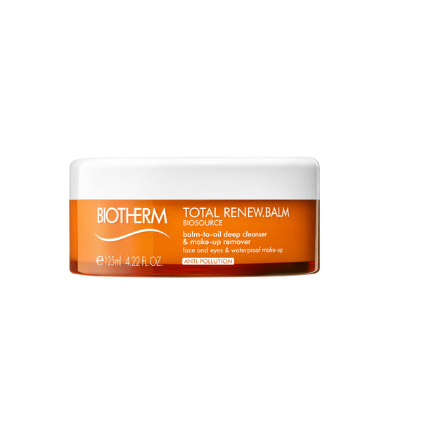 Biosource Total Renew Balm-To-Oil Deep Cleanser & Makeup Remover - BIOTHERM