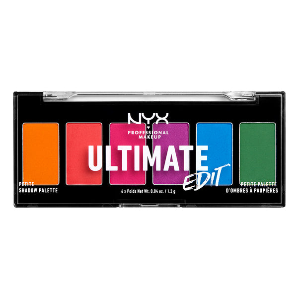 Ultimate Edit Petite Shadow Palette - NYX Professional Makeup