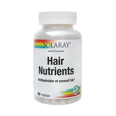 Hair Nutrients - SOLARAY