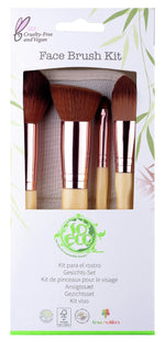 Face Brush Kit (4 børster) - So Eco