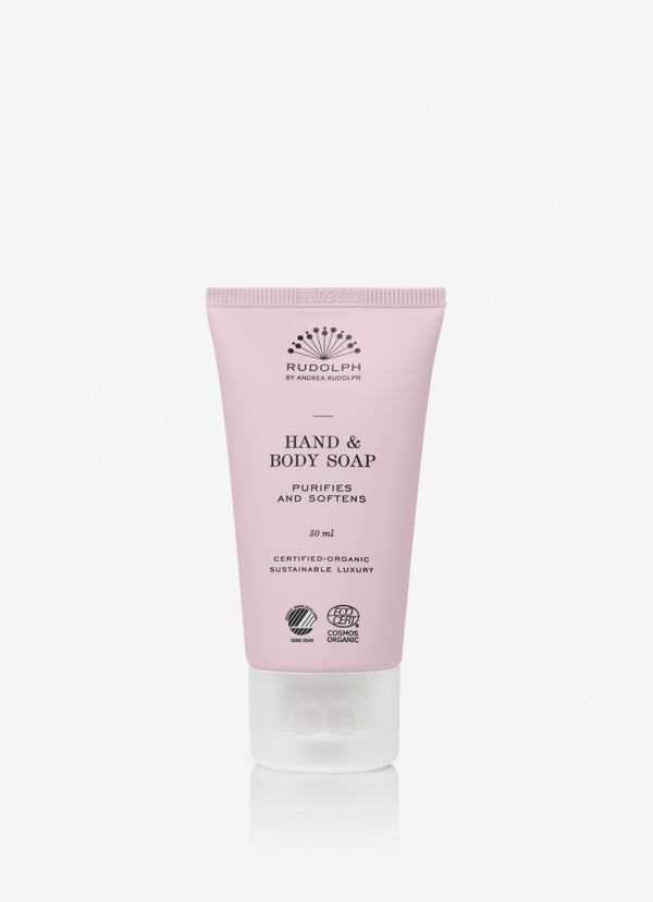 Hand & Body Soap Travelsize - Rudolph Care