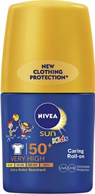 Caring Roll-On KIDS SPF50+ - NIVEA Sun