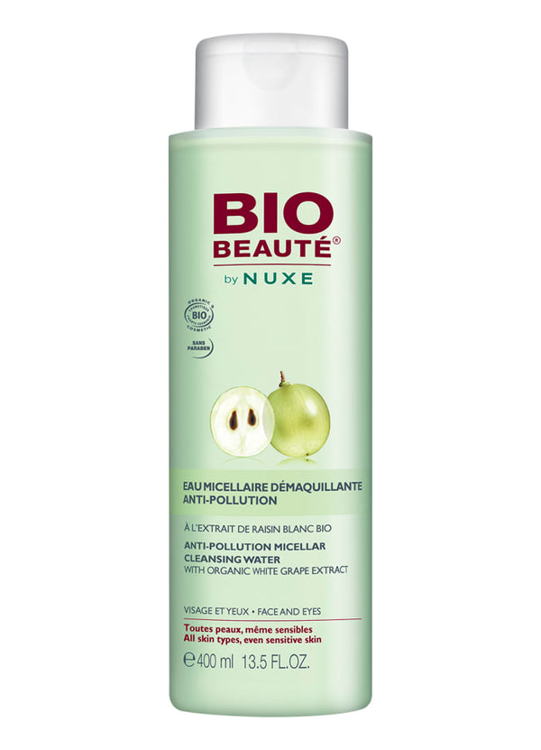 Anti-Pollution Micellar Cleansing Water - NUXE BIO BEAUTÈ