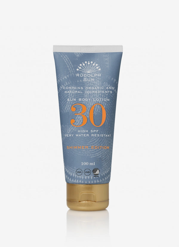 Sun Body Lotion SPF30 - SHIMMER EDITION - Rudolph Care