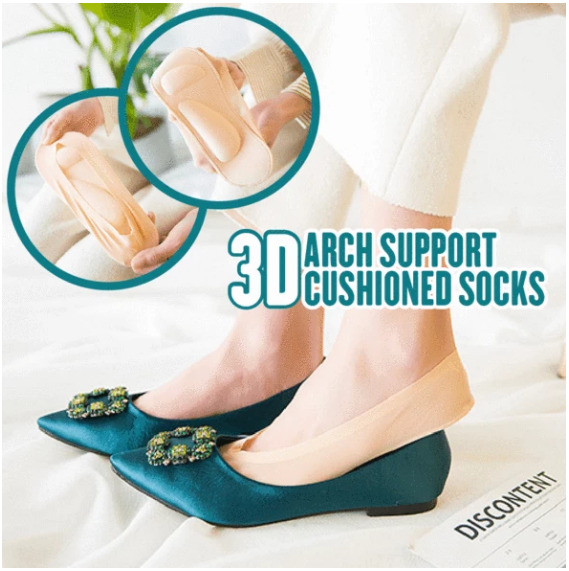 3D Arch Support Cushioned Socks