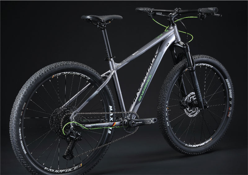 Silverback Splash female bike low standover