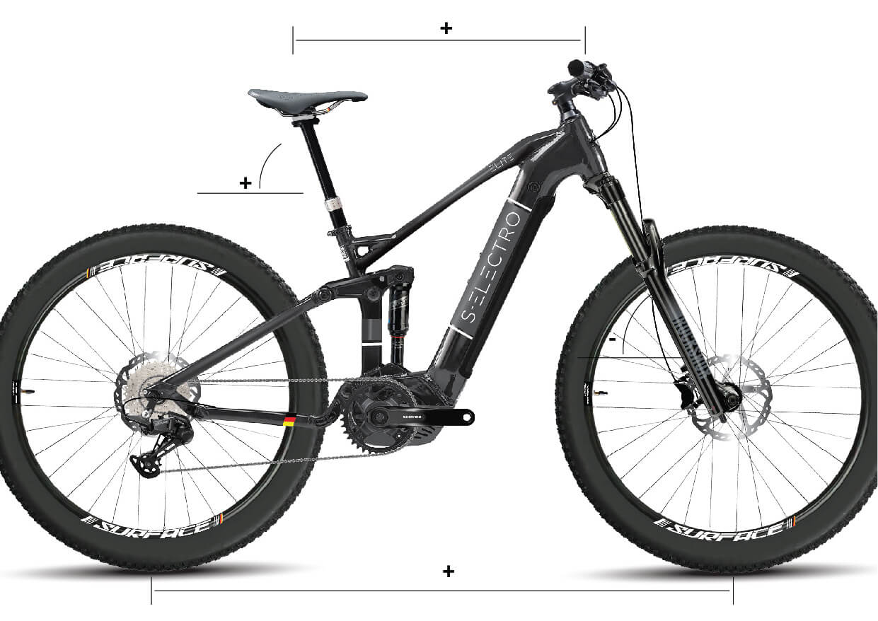 S-Electro Elite AL Full suspension e-bike