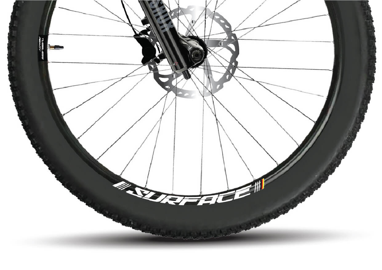 S-Electro Elite AL 1 Sunringle Tubeless ready wheels
