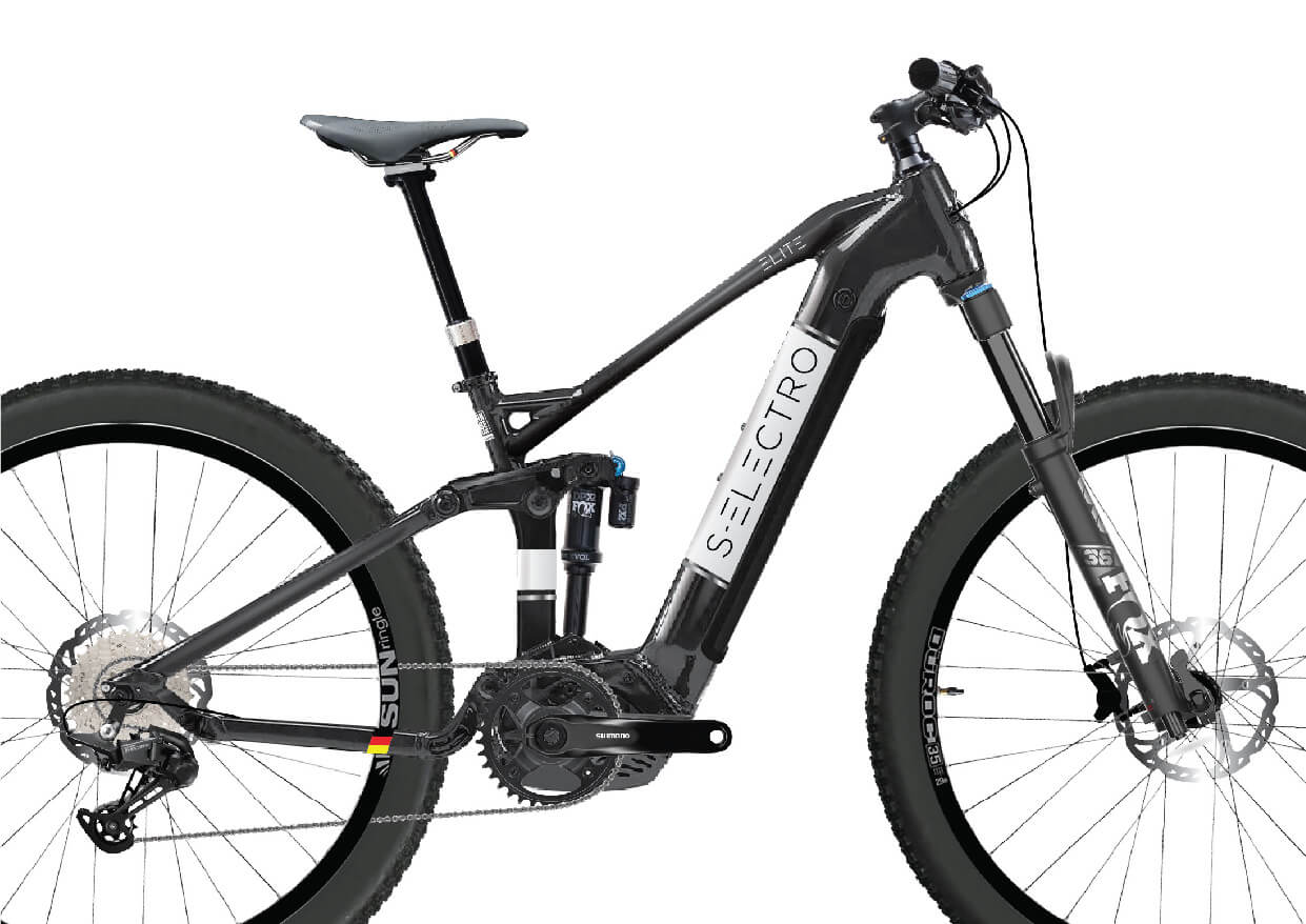 S-Electro Elite AL 1 full-sus E-bike