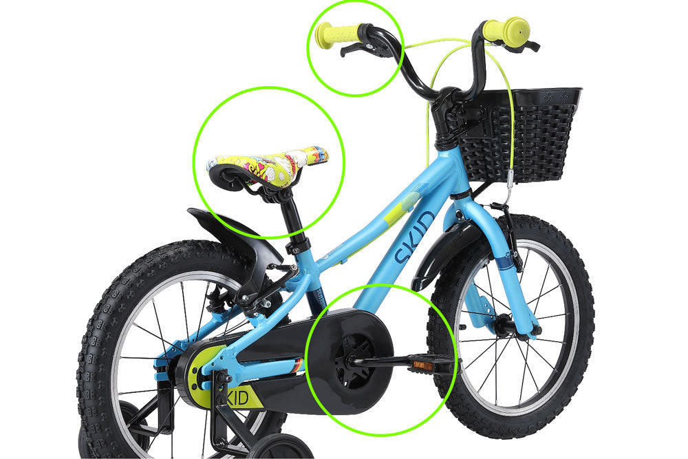 silverback skid 16 kids bike first bicycle
