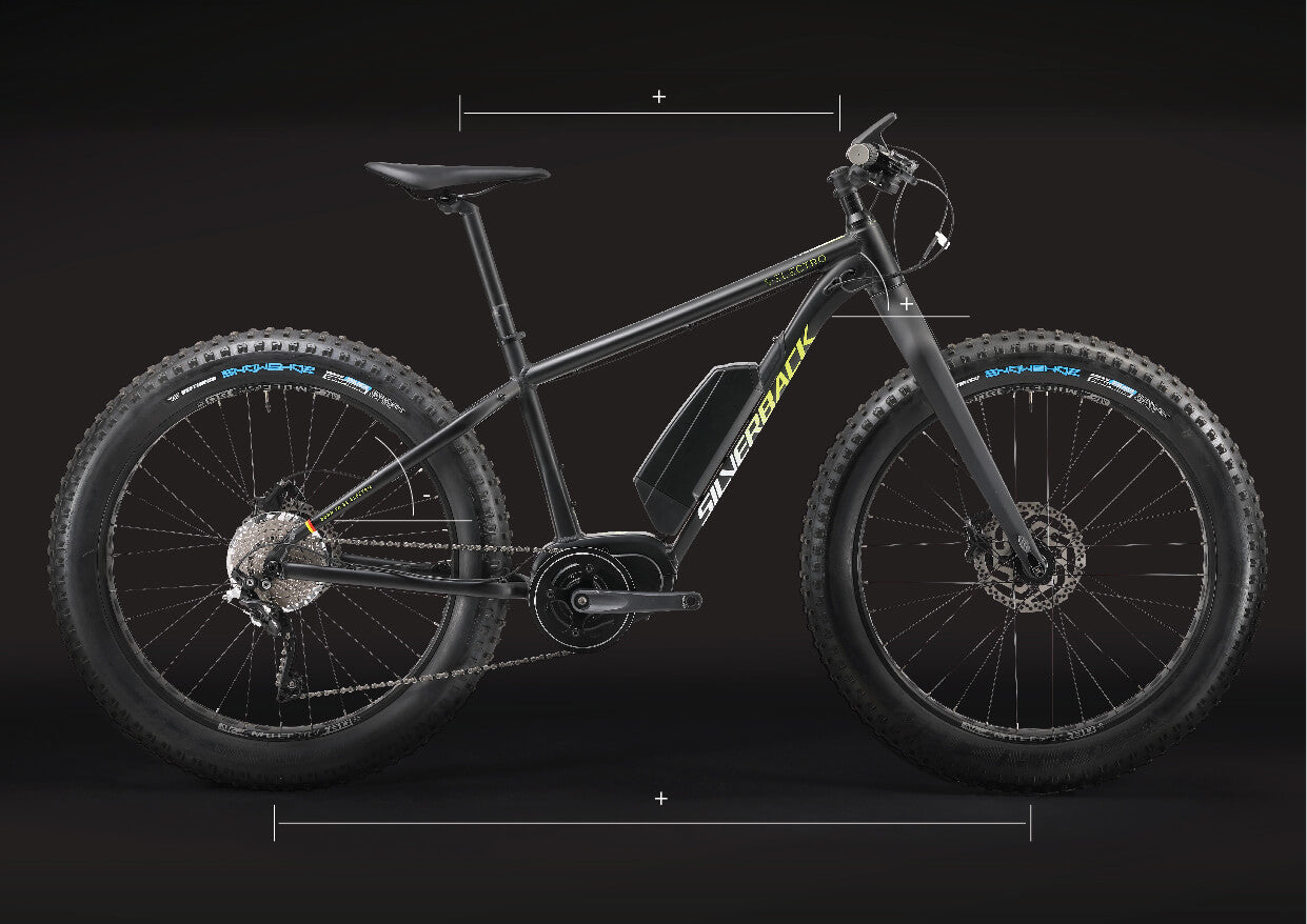 S-Electro Fat bike geometry