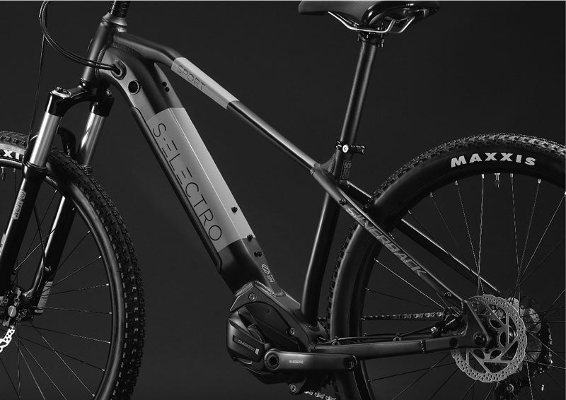 s-electro sport e-bike hydro formed alloy frame