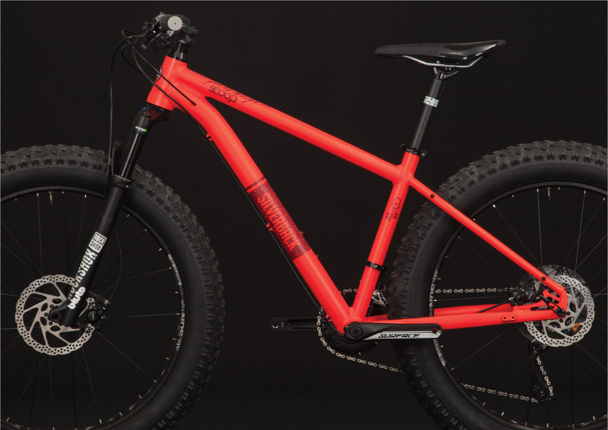 silverback scoop double fat bike disc brakes