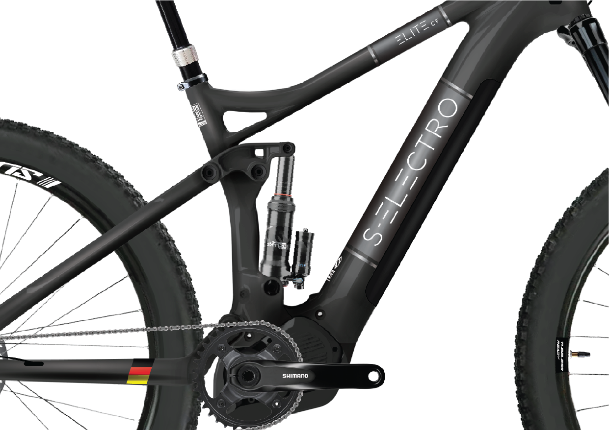 S-Electro Elite CF full-suspension trail ebike