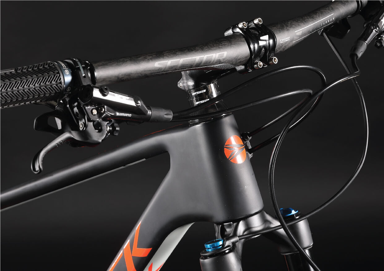 Silverback Superspeed internal cable routing