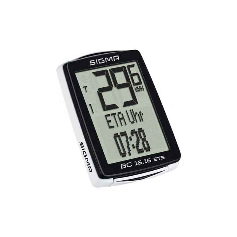 Sigma BC 16.16 STS Wireless Bike Computer - Accessories - Sigma - - - - Speedlab