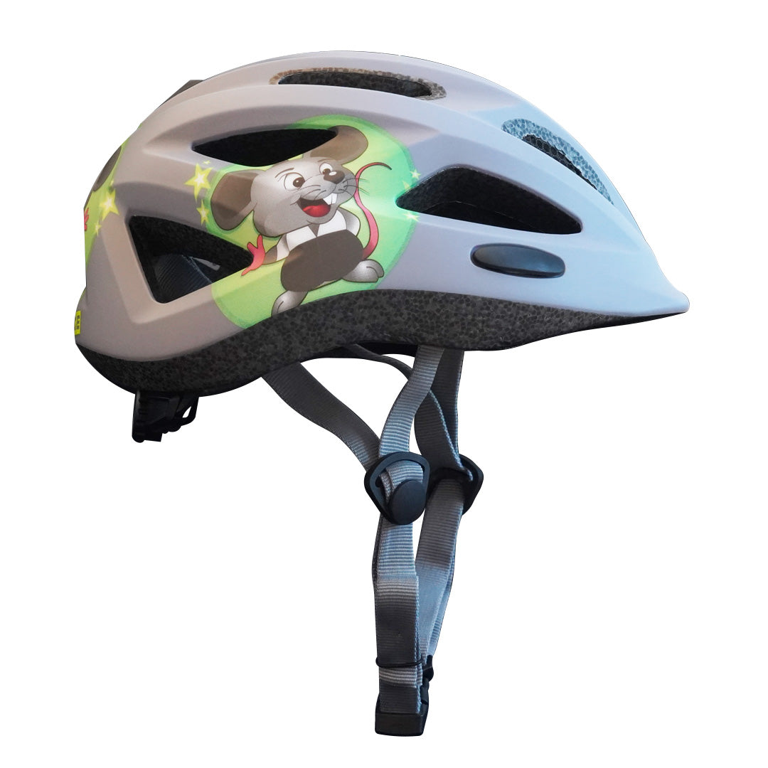 Sam Kids/Toddlers Helmet - Helmet - Space - Matt Grey/Lime - - - Speedlab