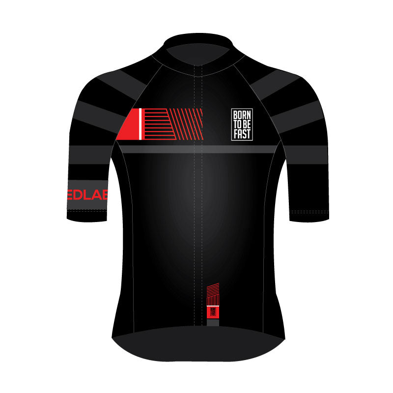 Supra Club Jersey - cycling - kit - shirt - front and back - Borntobefast- - - - Speedlab