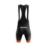 Cycling Bib - Orange - Race Wear - cycling - bike - short - back - Silverback - - - - Speedlab