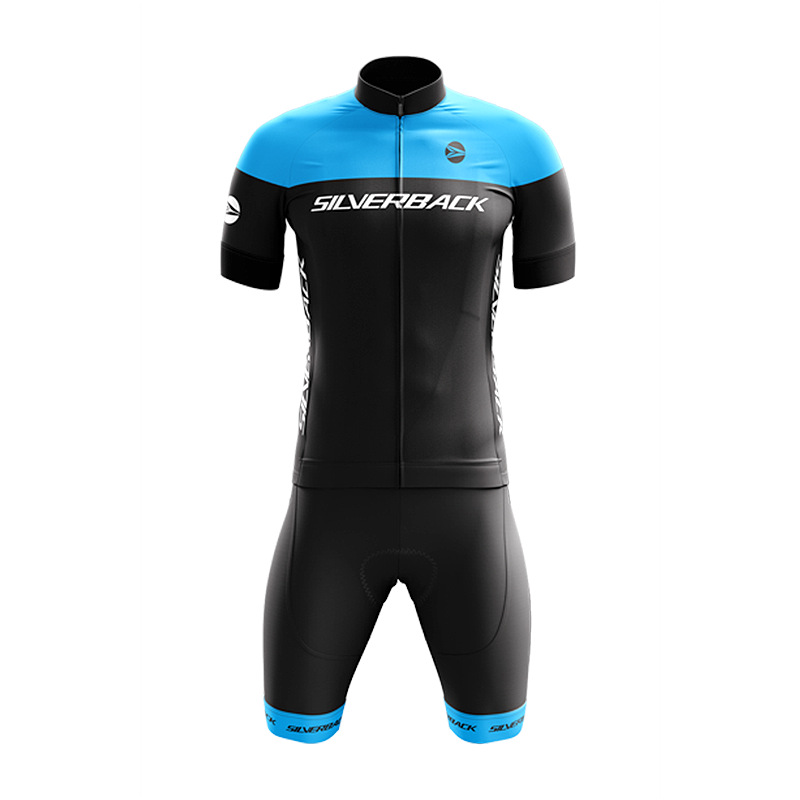 Cycling Kit - Blue - Race Wear - Silverback - XXS - DeepSkyBlue - bike - mtb - road - front - Speedlab