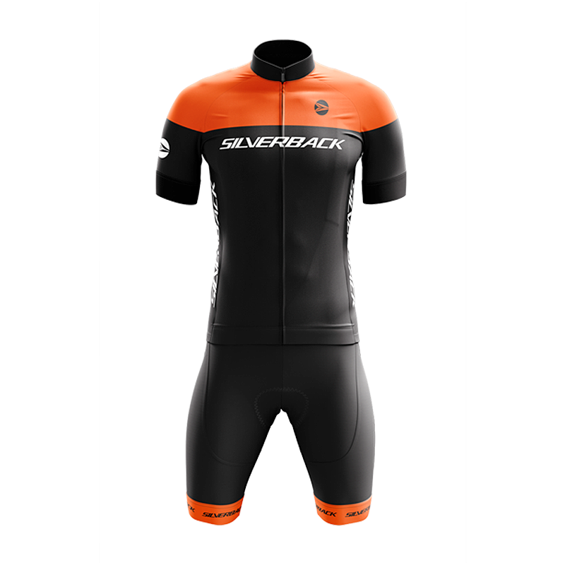 Cycling Kit - Orange - Race Wear - Silverback - XXS - DarkOrange -  bike - mtb - road - front - Speedlab