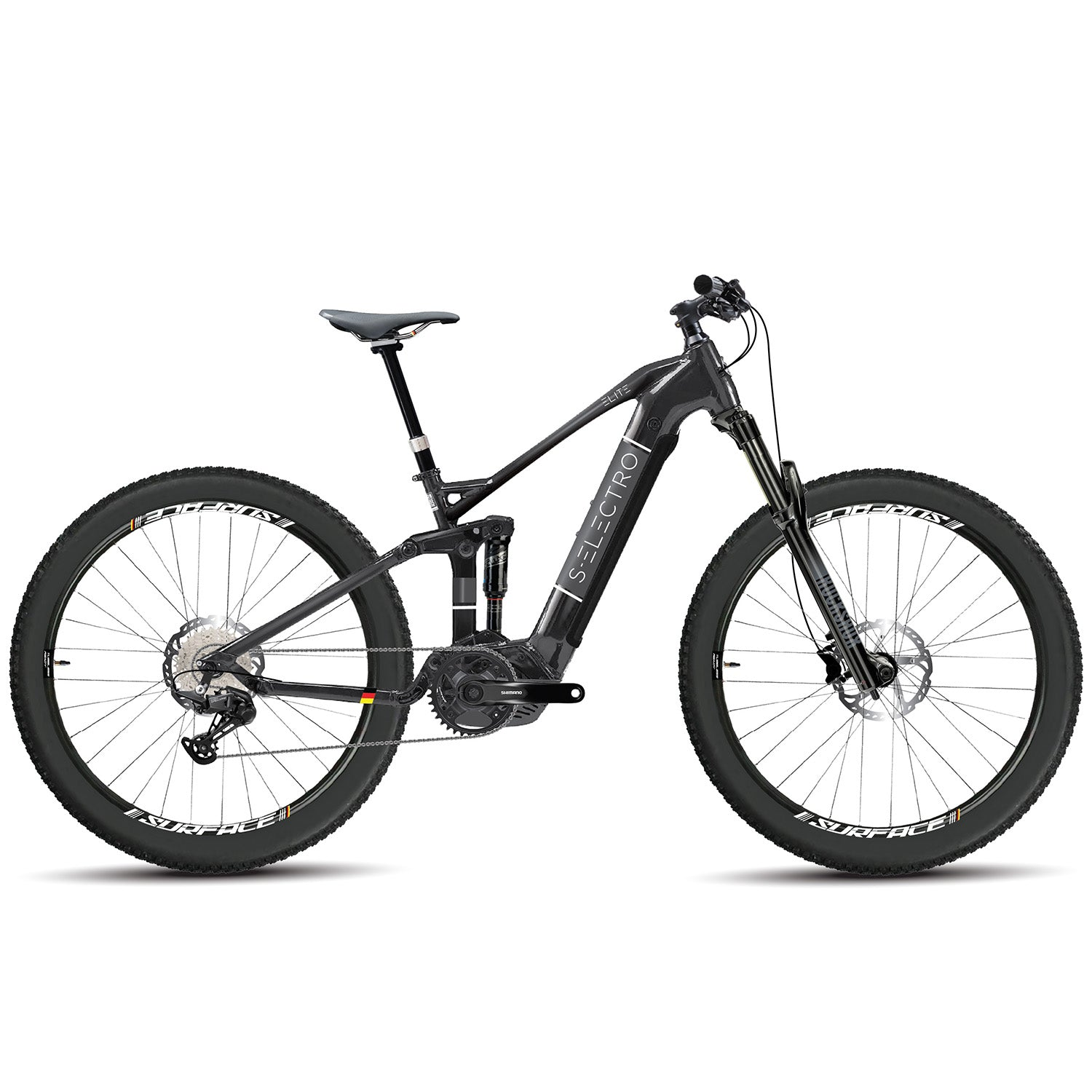 S-Electro Elite AL 4 - Alloy Electric Enduro Bike