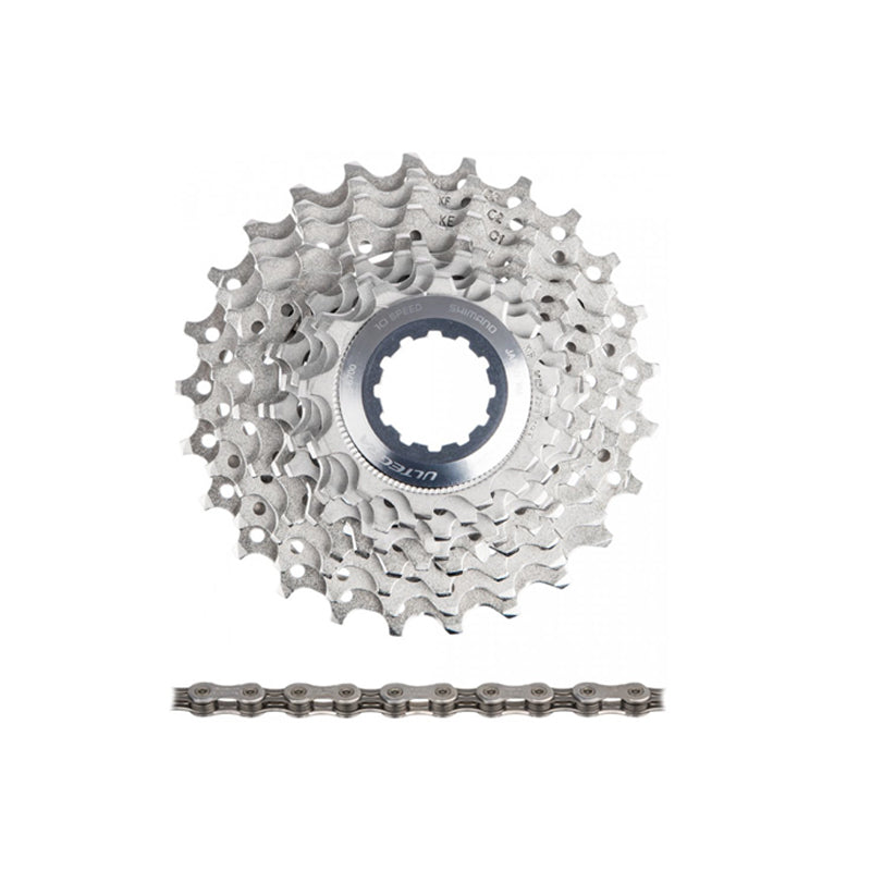 Shimano Ultegra CS-6700 Cassette + CN-6701 10-speed Chain Set - Components - set - Shimano - - - - Speedlab