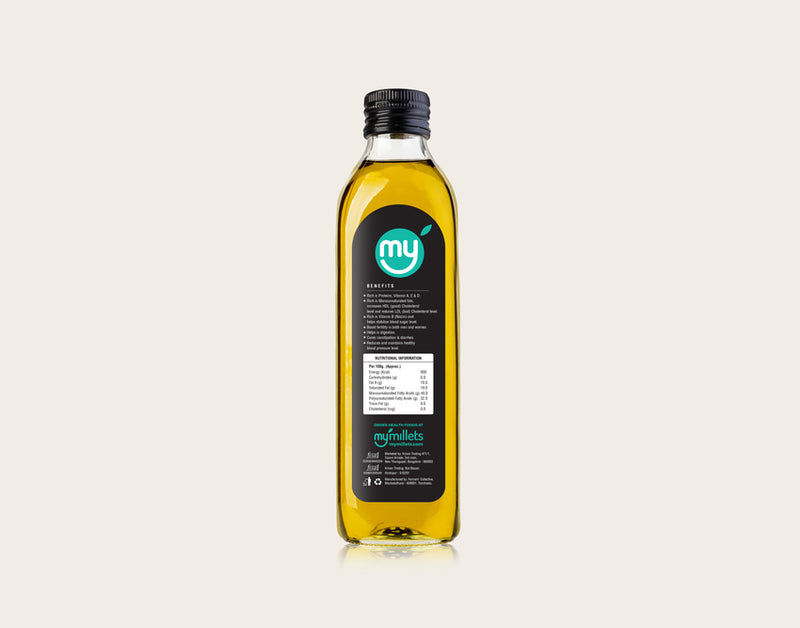 groundnut oil 1 litre bottle