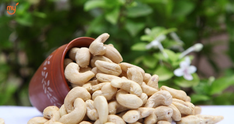 Cashew Nuts from mymillets