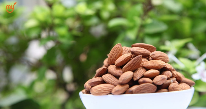 Almonds in wholesale price