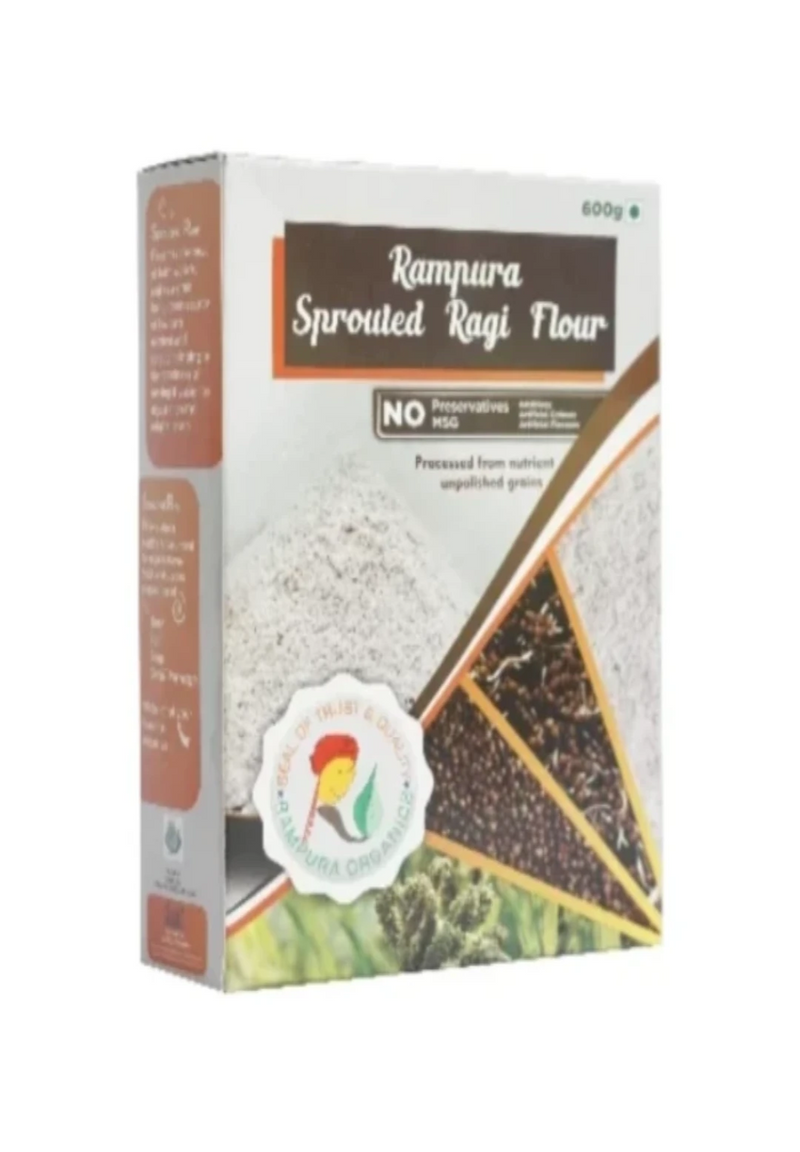 600 gram box of sprouted ragi flour