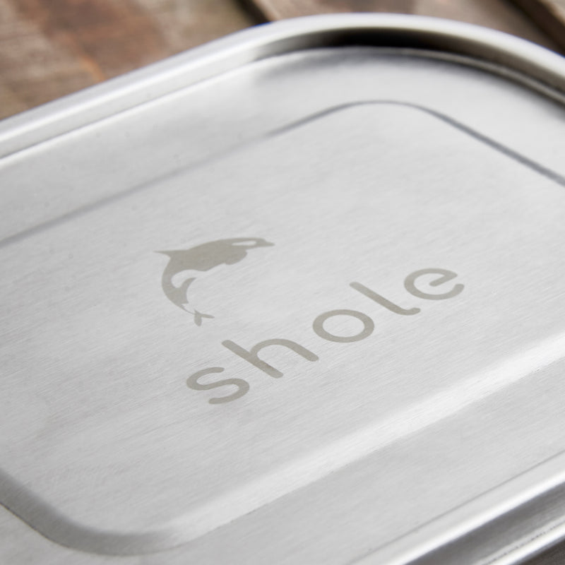 Shole Stainless Steel Lunch Box Single Tier