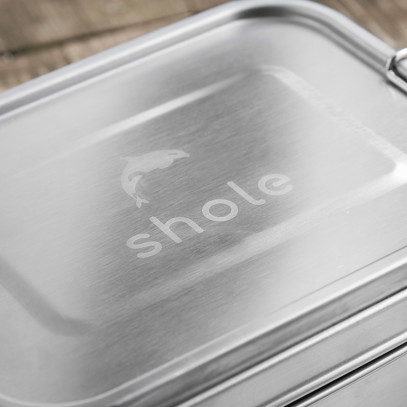Stainless Steel Lunch Box Double Tier