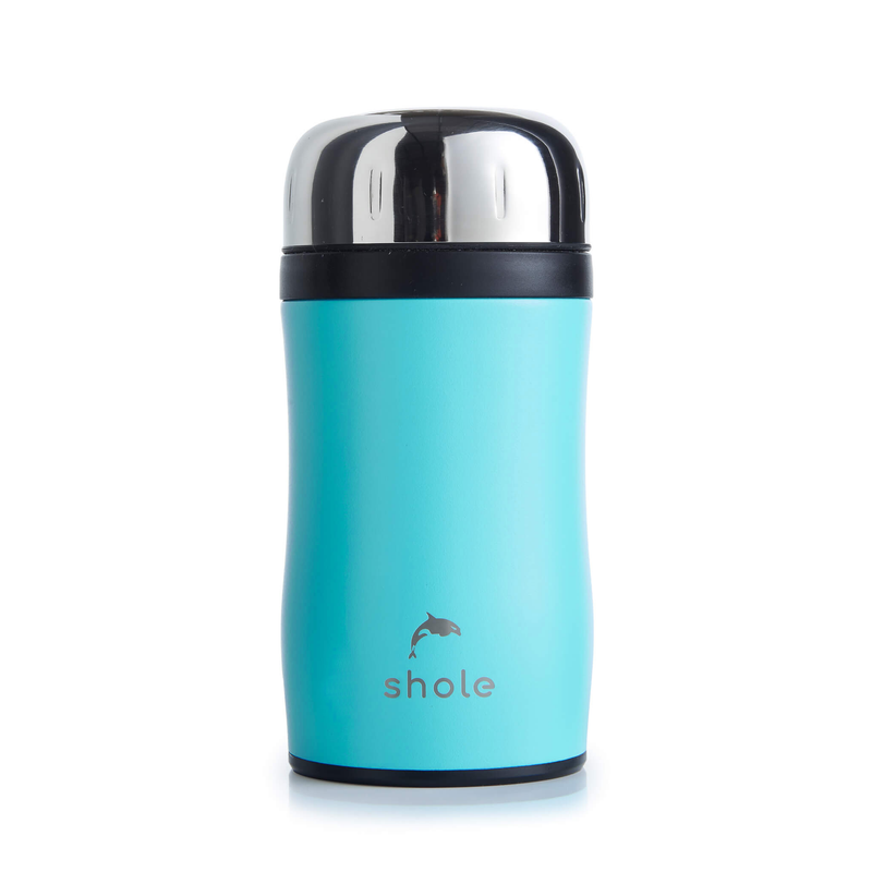 Shole Double Walled Food Flask Aqua 500ml Capacity
