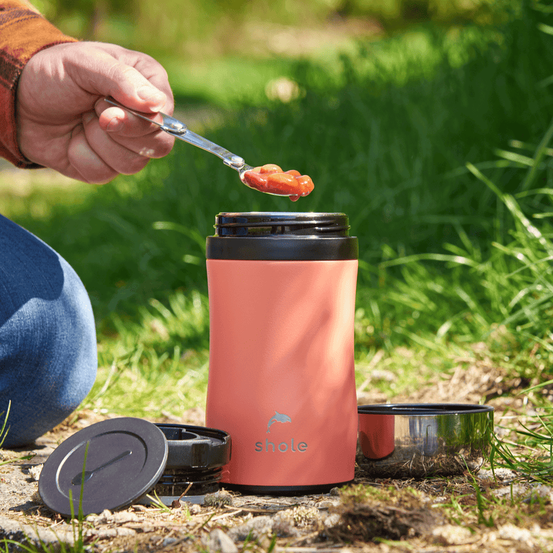 Shole Insulated Food Flask Sustainable Solution to Single Use Plastic