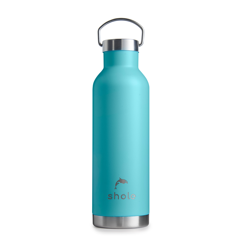 Shole Blue Double Walled Insulated Drinks Bottle