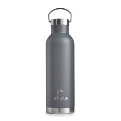 Shole Grey Double Walled Insulated Drinks Bottle