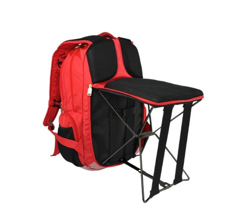 2 in 1 Backpack Chair Waterproof Backpack Multifunctional Portable Folding Fishing Chair