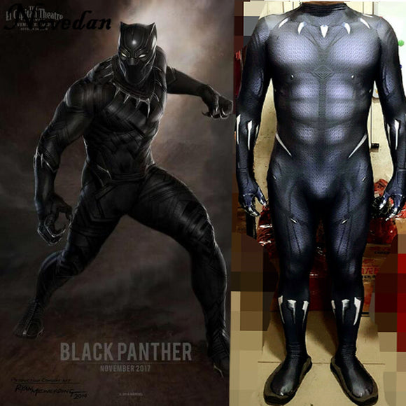 Adult Black Panther Costume