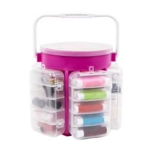 210-Piece Sewing Kit Storage Caddy Organizer