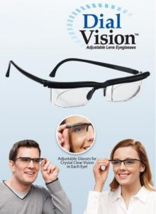 Adjustable Dial Lens Eyeglasses Vision Reader Eye
